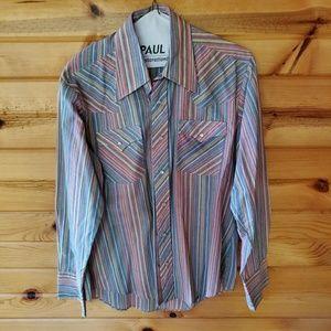 Vintage Bronco Multi-Color, Cotton Blend Western